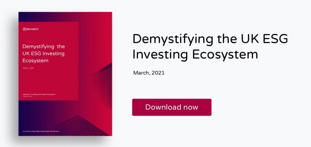 UK ESG Investing Ecosystem